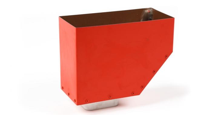 cuvette de raccordement page d tail produit araltec goutti re aluminium laqu 100 fran ais. Black Bedroom Furniture Sets. Home Design Ideas