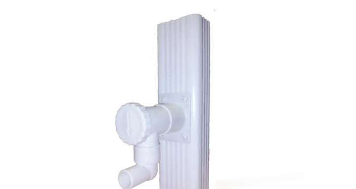 Collecteur d 39 eau rectangulaire page d tail produit araltec goutti re - Systeme de recuperation d eau ...