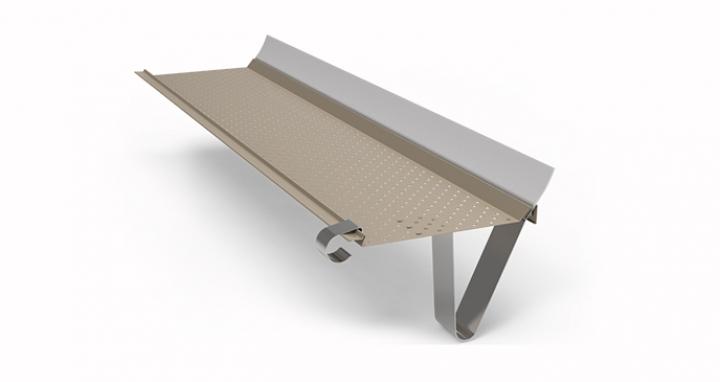 gutterstark page d tail produit araltec goutti re aluminium laqu 100 fran ais. Black Bedroom Furniture Sets. Home Design Ideas